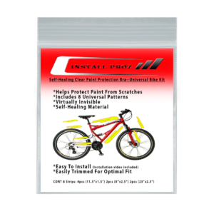 Self-Healing Clear Paint Protection Film–Universal Bicycle Kit