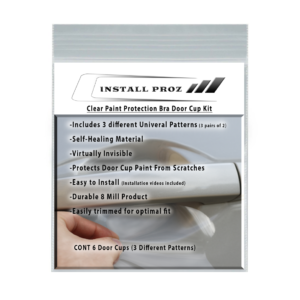 Self-Healing Clear Paint Protection Door Cup Kit-Universal