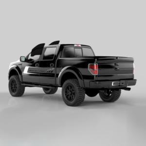 Pre Cut Tint Kit For Any 4 Door Truck—Front Windows